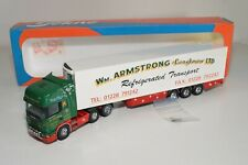 A5 21 1:50 TEKNO SCANIA 164L W.M. ARMSTRONG LTD LONGTOWN TRUCK WITH TRAILER MIB