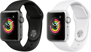 Apple Watch Series 3 (GPS) | Black, White | 38MM, 42MM | Brand New Sealed