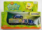 2003 Matchbox SpongeBob Squarepants Deep-Sea Trailer (Ford Aeromax) and Beetle