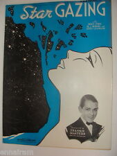 Star Gazing 1935 sheet music Symes  Neiburg Levinson -  Frankie Masters cover
