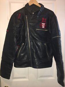 Dolce & Gabbana D&G Men Biker Jacket size XL