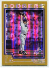 2004 Topps Chrome Gold Refractor 92 Hideo Nomo