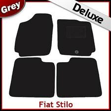 FIAT STILO 2001-2007 Tailored LUXURY 1300g Carpet Car Floor Mats GREY