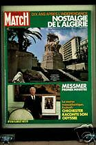 PARIS MATCH Algerie Messmer Chichester Govern Delon