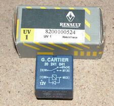 Renault Espace IV Laguna II Vel Satis 12V Relay 40AMP Part Number 8200100524