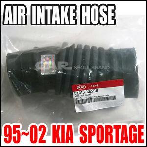 KIA 1995~2002 Sportage  Air Intake Hose Genuine OEM 0K013-13221B (HOSE  INTAKE)