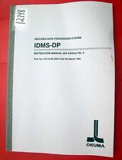 Okuma Idms-Dp Instruction Manual (Number 2): Pub No 3161-E-R2(Se41-002-R5) 12198