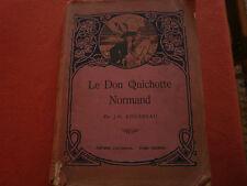 LIVRE ANCIEN:LE DON QUICHOTTE NORMAND-JM ROUSSEAU-CASTERMAN