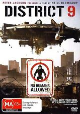 DISTRICT 9 : NEW DVD