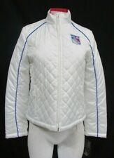 New York Rangers Women's White Light Weight Full Zipper Soft Shell Jacket