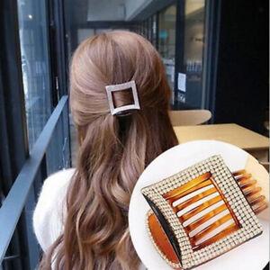 Clip per artigli per capelli con strass blingbling Clip per pinze per capelli