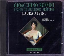 Rossini peches de viellesse preludes Laura Alvini piano CD 1992 baroque rococo