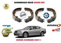 R683FOR DODGE AVENGER 2.0DT 2.0 2.4 2007> NEW REAR HAND BRAKE SHOES SET