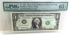 "Add a Rare *Web Note* Pmg ""65"" to your Collection Choice Unc. 1995 - Free Ship"