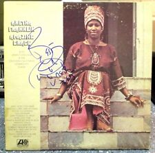 "Aretha Franklin signed Amazing Grace 12"" LP"