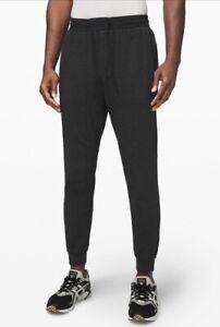 At Ease Jogger Pants Lululemon Men's Large Heathered  Black
