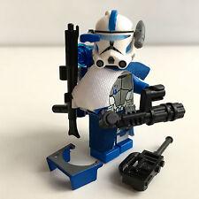 Lego Star Wars Custom 501. ARC Clone Trooper Echo + Custom Mini Gun & Equipment