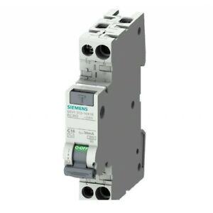 Magnetotermico Differenziale Compatto Siemens 1 Modulo 6A/10A/16A Salvavita