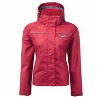Harry Hall Ellerton Jacket - Equestrian Lightweight Waterproof Jacket - Red