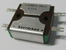 2 Stück - B150C120 HERRMANN SELEN Gleichrichter - Rectifier VINTAGE - 2 pcs