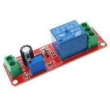12V Delay Timer NE555 Monostable Switch Relay Module Adjustable Arduino AU