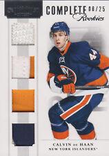 11-12 Dominion COMPLETE ROOKIES xx/25 Made! Calvin De HAAN #23 - Islanders RC