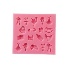 3D Baby Shower Fondant Icing Silicone Mould - Sugarcraft & Cake Decorating Tools