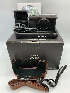 """FUJIFILM X-E1 16.3MP """"Excellent +++"""" Used Digital Camera with battery from Japan"""
