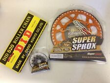 KTM SX SXF EXC EXCF XC 125 - 550 Front 13 Rear 51 Sprocket Org Alloy DID Chain