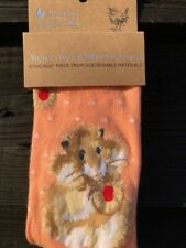 "WRENDALE BRAND NEW SOCKS HAMSTER ""(DIET STARTS TOMORROW"") FREE GIFT BAG"