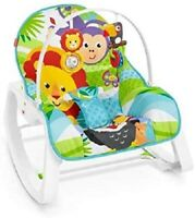 Fisher Price 2 In 1 Evolution Baby Bouncer Rocker Seat Soothing Vibrations