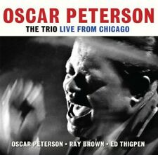 Trio: Live From Chicago - 2 DISC SET - Oscar Peterson (2013, CD NEUF)