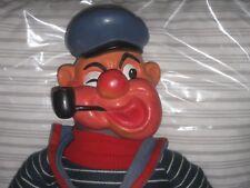 Poupée-sac POPEYE le marin en caoutchouc idéal pour marionnette