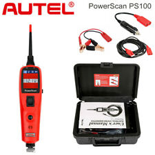 Autel PowerScan PS100 Auto Electrical System Circuit Testers Test Leads 12V/24V