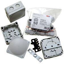 3 x Wiska 308 Grey IP66 Waterproof Combi Junction Boxes 10 x Wiska 20mm Glands
