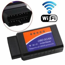 OBDII WIFI SCANNER ELM327 obd 2 AUTO CAR FOR PC IPHONE SAMSUNG TOOL DIAGNOSTIC
