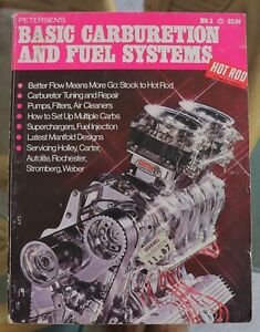 Book Petersens Hot Rod Technical Library No. 3 Basic Carb and Fuel Systems Race
