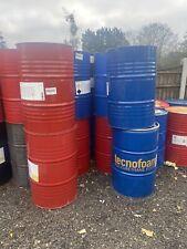 More details for 250 litre metal drums barrel burner fire pit furniture