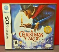 Disney A Christmas Carol   - Nintendo DS DS Lite 3DS 2DS Game Complete + Tested