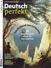 Deutsch perfekt, Heft Juni 6/2017: 50 Ideen für den Sommer  +++ wie neu +++