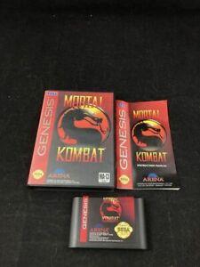Mortal Kombat, Complete  in Case, Sega Genesis