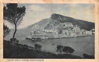 Cartolina Portovenere Golfo di La Spezia 1942
