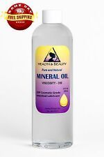 MINERAL OIL 350 VISCOSITY NF USP GRADE LUBRICANT by H&B Oils Center PURE 12 OZ
