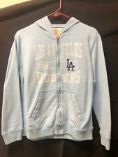 Los Angeles Dodgers Light Blue Girls Zip Up Jacket