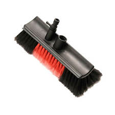Water Fed Car Washing Cleaning Brush Head BUS with Control Tap