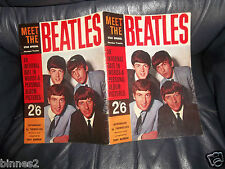 """MEET THE BEATLES"" GENUINE 1963 STAR SPECIAL Tony Barrow  Near Mint CONDITION"