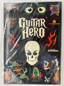 Guitar Hero Stickers Decals Activision Game World Tour PS2 PS3 Nintendo Xbox NEW