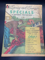 International Harvester Likely 1940's Bulk Mail Sales Flyer- Great Condition