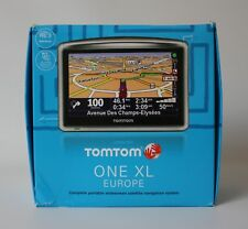 BNIB TomTom ONE XL EUROPE GPS Satellite Map Navigation System SAT NAV Portable