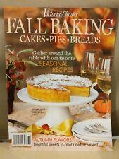 Victoria Classics Magazine: Fall Baking Autumn Cake Pies Breads 2017